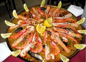Seafood paellasmall