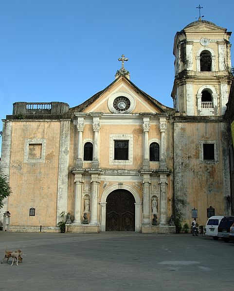 San Augustin Church in Manila, built in the early 17th century