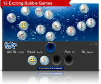 bubble game screenshot