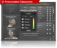 pronunciation classroom screenshot
