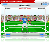 soccer game screenshot