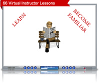 virtual instructor screenshot
