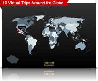 visual link travel agency map
